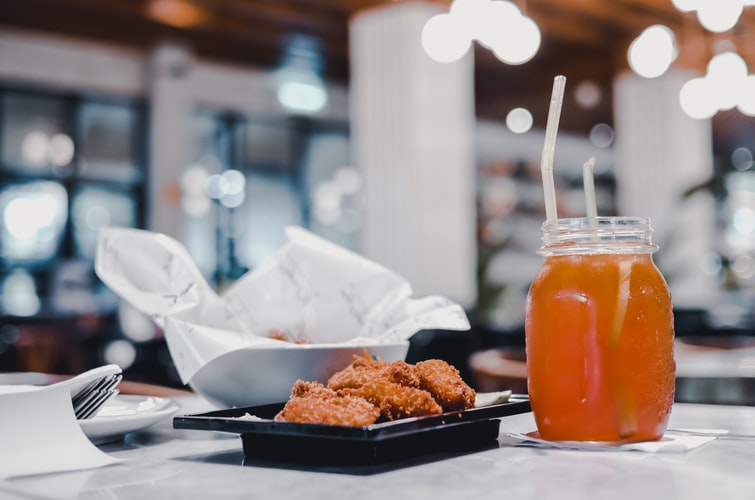 fried food and soda