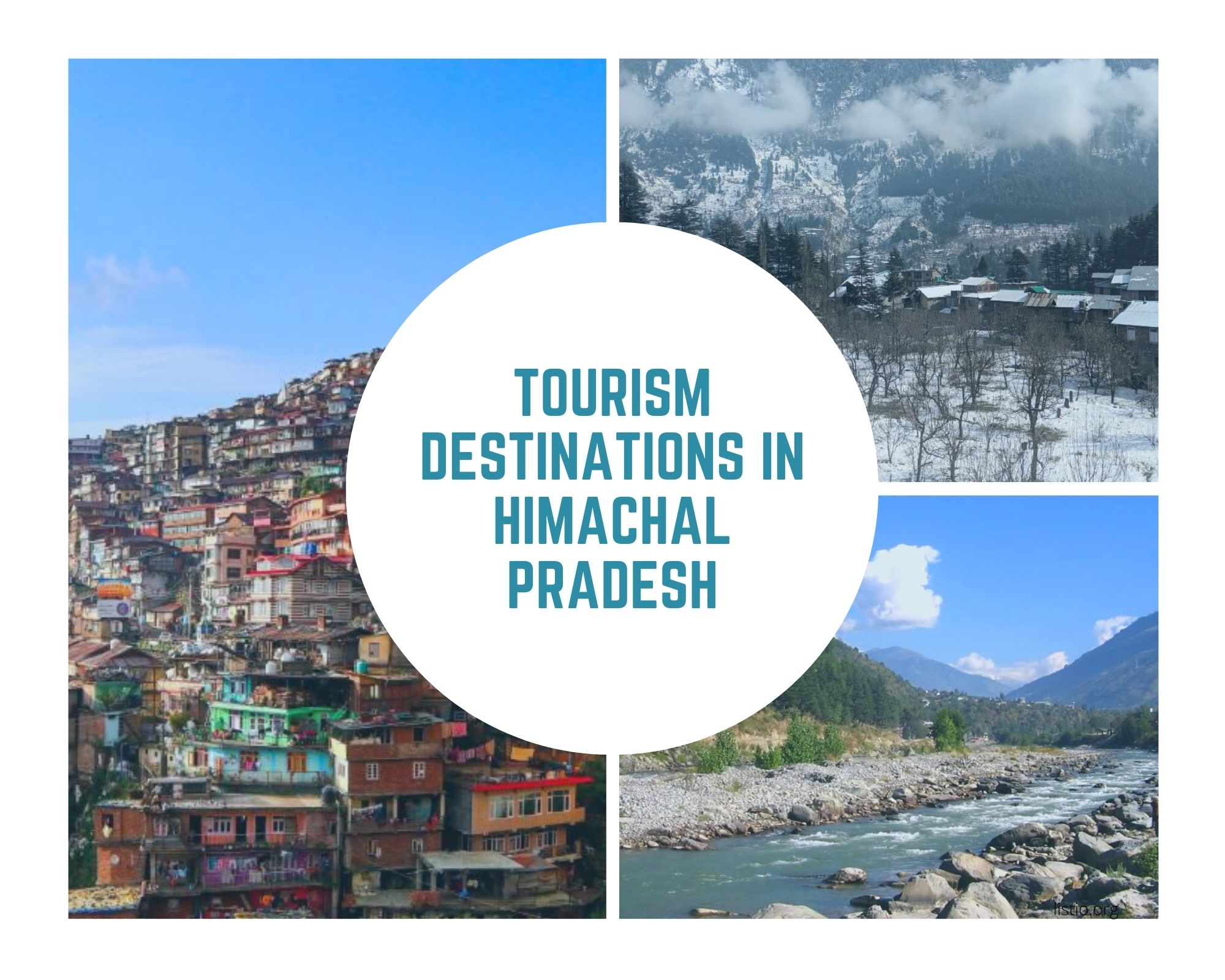 Tourism Destinations In Himachal Pradesh